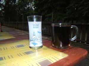 Sonlara doğru Rakı ve çay
